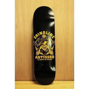 GRINDLINE×ANTIHERO (グラインドライン,アンタイヒーロー,デッキ) 8.8 oddball-skate-snow
