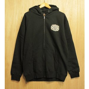 CONSOLIDATED (コンソリ,ジップパーカー) ZIP HOOD SHINE ON black|oddball-skate-snow