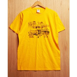 OURLIFE (アワーライフ,Tシャツ) LOWERBOBS TEE gold|oddball-skate-snow
