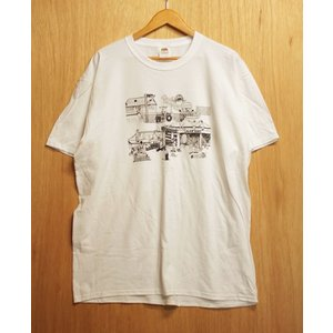 OURLIFE (アワーライフ,Tシャツ) LOWERBOBS TEE white|oddball-skate-snow