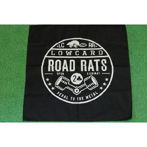 LOWCARD ROAD RATS BANDANA (ローカード,バンダナ) oddball-skate-snow