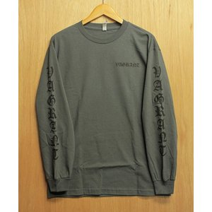 VAGRANT (バグラント,ロンT) DEATH CARD L/S TEE charcoal|oddball-skate-snow
