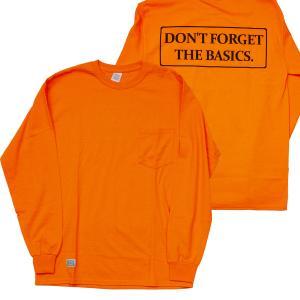 ODDBALL ORIGINAL (オッドボール,オリジナル,ロンT) DFTB  L/S POCKET TEE s.orange|oddball-skate-snow