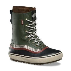 VANS SNOW BOOT (バンズ,スノーブーツ,スノースケート) REMEDY GREEN/SABLE|oddball-skate-snow