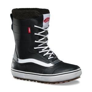 VANS SNOW BOOT (バンズ,スノーブーツ,スノースケート) REMEDY BLACK/WHITE|oddball-skate-snow