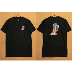 CYCLE ZOMBIES (サイクルゾンビーズ,Tシャツ) LAST PLACE S/S TEE black|oddball-skate-snow