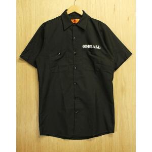 ORIGINAL WORK SHIRT (オッドボール,オリジナル,ワークシャツ) black|oddball-skate-snow