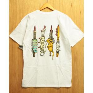 ANTI HERO (アンタイヒーロー,Tシャツ) SKANKS S/S TEE white|oddball-skate-snow