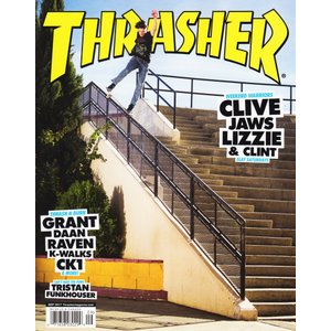 THRASHER MAGAZINE (スラッシャー,マガジン,雑誌) SEP 2017  ISSUE446|oddball-skate-snow