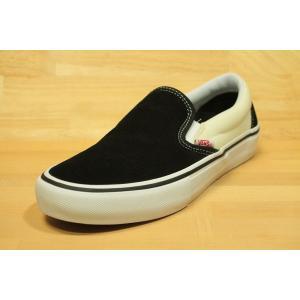 VANS PRO SKATE (バンズ スケート スニーカー スリッポンプロ) SLIP-ON PRO black/white/white|oddball-skate-snow