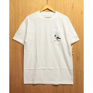 ANTI HERO (アンタイヒーロー,ポケットTシャツ) LIL OG PIGEON POCKET S/S TEE white|oddball-skate-snow