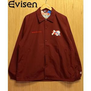 EVISEN (エビセン,ドス,コーチジャケット) DOSU JKT burgundy  形の良いジ...