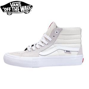 VANS バンズ スケート スニーカー スケートハイプロ ホワイト SK8-HI PRO white|oddball-skate-snow