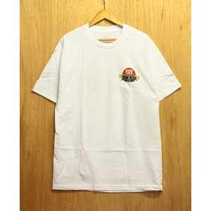 HARD LUCK ハードラック Tシャツ ジェーソンジェシー SOL ROJO S/S TEE white|oddball-skate-snow