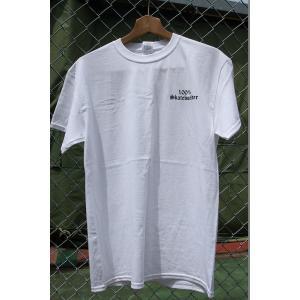 100%SKATEBOADER LOGO S/S Tシャツ WHITE|oddball-skate-snow