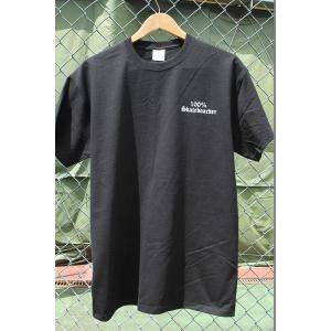 100%SKATEBOADER LOGO S/S Tシャツ BLACK|oddball-skate-snow