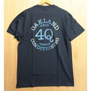 4Q(フォーキュー,ポケットTシャツ)LOGO POCKET TEE NAVY|oddball-skate-snow