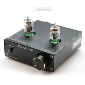 真空管アンプ FX-AUDIO TUBE-01(ACアダプター付) 真空管 アンプ オーディオ