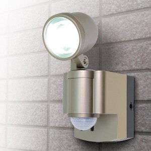 屋外用LEDセンサーライト 乾電池 3W LED 1灯 / ESL-301BT|odin