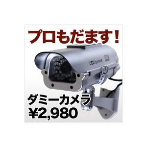 ダミーカメラ 配線不要 本物の防犯カメラに近い監視カメラダミー