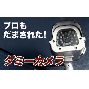 防犯カメラ 威嚇も出来る本物そっくり ダミー防犯カメラ 屋外ダミー|odin|02
