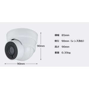 防犯カメラ 家庭用 屋外 セット 監視カメラ 録画機セット AHD リレーアタック対策|odin|06