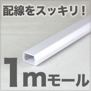 ケーブルモール 配線カバー ホワイト|odin
