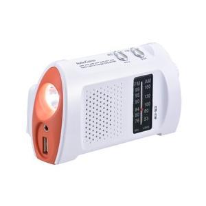 充電ラジオライト スマホ充電 LEDライト 懐中電灯 ラジオAM/FM 地震 防災用品 災害用品 多機能ラジオライト|odin