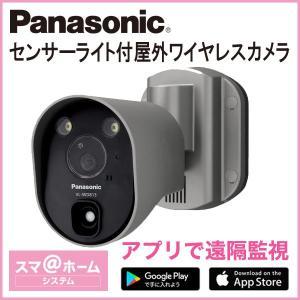 パナソニック Panasonic センサーライト付屋外ワイヤレスカメラ VL-WD813K|odin