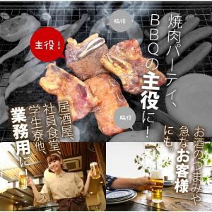 メガ盛り 骨付き牛カルビ&豚カルビギフトセット1.2kg / 焼肉 バーベキュー BBQ メガ盛り odorokitchen 07
