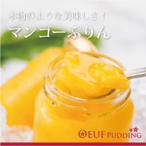 うっふマンゴープリン 6個セット 冷凍|oeuf-pudding2