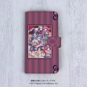 手帳型スマホケース[5インチタイプ] クリミナルガールズ2 〈限定版パッケージVer.〉|ofc-mag