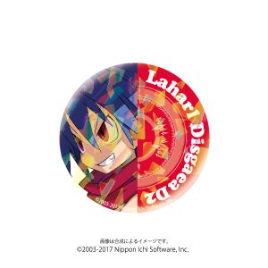 ホログラム缶バッジ ディスガイア D2 〈ラハール〉|ofc-mag
