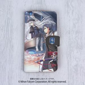 手帳型スマホケース[5インチタイプ] 英雄伝説 閃の軌跡III 〈灰の騎士と黒兎〉|ofc-mag