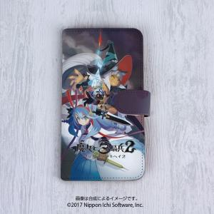 手帳型スマホケース[5インチタイプ] 魔女と百騎兵2 〈限定版イラスト〉|ofc-mag