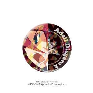 ホログラム缶バッジ 魔界戦記ディスガイア2 〈アデル〉|ofc-mag