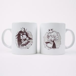 【ペアセット】マグカップ  嘘つき姫と盲目王子〈姫・王子〉|ofc-mag