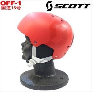 半額以下!!【訳アリ大特価!】◆SCOTT SCREAM カラー:RED MATT スキー スノーボード ヘルメット プロテクター メンズ レディース|off-1