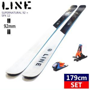 ◎[179cm/92mm]LINE SUPERNATURAL 92+SPX12 BLUE ORANG...