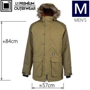 ○メンズ[Mサイズ]L1 GRIMEY JKT カラー:BRUSH MILITARY エルワンのスキースノーボード用アウターウェア シンプルで落ち着いたデザインが人気のブランド|off-1