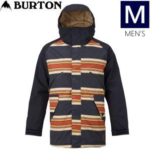 ●メンズ[Mサイズ] BURTON MATCHSTIK JKT カラー:JPN VNTG STRP TR BK KLP スキーやスノーボードのウェア バートンのメンズマッチスティックジャケット|off-1