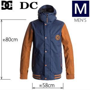 ◎メンズ[Mサイズ]18 DC DCLA SE JKT カラー:CPL1 ディーシーのスノーボード用アウターウェア スタジアムジャケット風 人気のブルゾンタイプのメンズモデル|off-1