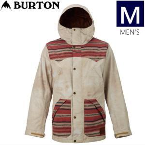 ●メンズ[Mサイズ] BURTON FOLSOM JKT カラー:SURPLUS CANVAS STAG STRIPE バートンのスキーやスノーボードのウェア ダニーデイビスモデル モダンなデザイン|off-1