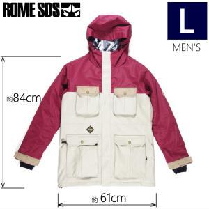 【ラス1】◎メンズ[Lサイズ]18 ROME NEWPORT JKT カラー:BURGUNDY BISQUE スノーボードウェア ジャケット ローム メンズ スノボウェア メンズジャケット|off-1