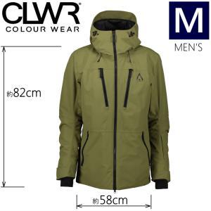 ★メンズ[Mサイズ]19 CLWR GRID JKT カラー:LODEN カラーウェア メンズジャケット スノーボードウェア COLOUR WEAR JACKET 日本正規品|off-1
