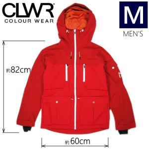★ 18-19 CLWR FALK JKT カラー:RED Mサイズ カラーウェア COLOUR WEAR フリースキー スノーボード ウェア メンズジャケット JACKET|off-1