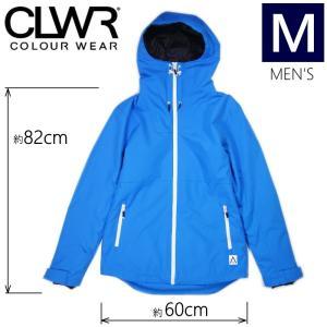 【ラス1】★メンズ[Mサイズ]19 CLWR BLOCK JKT カラー:Swedish BLUE カラーウェア メンズジャケット スノーボードウェア COLOUR WEAR JACKET 日本正規品|off-1