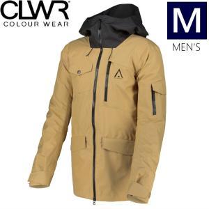 ☆ 19-20 CLWR HAWK JKT カラー:SAND Mサイズ カラーウェア COLOUR WEAR フリースキー スノーボード ウェア メンズジャケット JACKET off-1