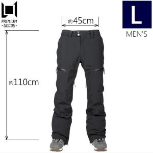半額以下!★メンズ[Lサイズ]L1 GEMINI PNT カラー:BLACK エルワン スキー スノーボードウェア メンズパンツ ジェミニパンツ PANT 日本正規品型落ち|off-1