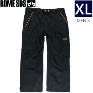 ★メンズ[XLサイズ]ROME SDS CHILL PNT カラー:STRETCH BLACK ローム チルパンツ スキー スノーボード メンズパンツ 日本正規品型落ち 旧モデル|off-1